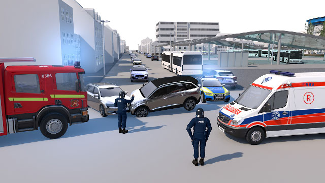 Video information system: recording traffic accident